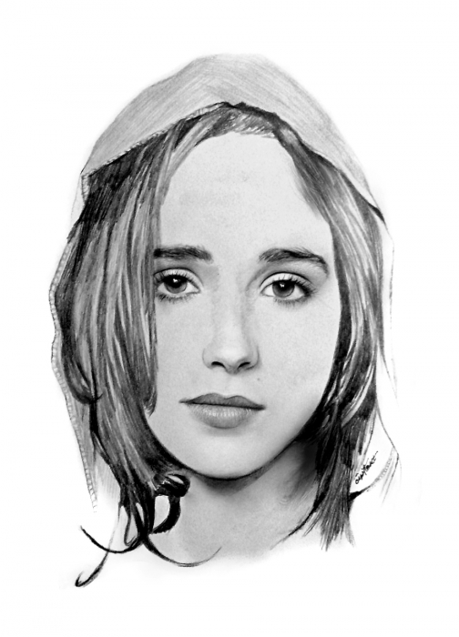 Ellen Page by cipta